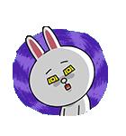 全力アクション★LINEキャラクターズ(個別スタンプ:14)