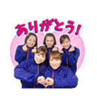 カーリング女子ロコ・ソラーレ公式スタンプ(個別スタンプ:01)