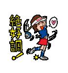 ゴルフバカ 女子部(個別スタンプ:06)