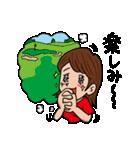 ゴルフバカ 女子部(個別スタンプ:16)