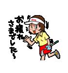 ゴルフバカ 女子部(個別スタンプ:24)