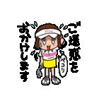 ゴルフバカ 女子部(個別スタンプ:26)