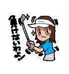 ゴルフバカ 女子部(個別スタンプ:32)