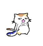 がんばるデブ猫(個別スタンプ:11)