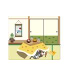 【動く】くまのNocchiとPocchi (文字なし)1(個別スタンプ:02)