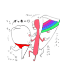 赤いパンツをはいた大臼歯(個別スタンプ:40)