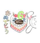 出産、誕生日、おめでとうスタンプ(個別スタンプ:14)