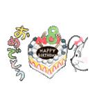 出産、誕生日、おめでとうスタンプ(個別スタンプ:16)