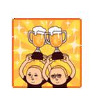 サッカーぷりてぃツイン(個別スタンプ:01)