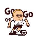 サッカーぷりてぃツイン(個別スタンプ:04)