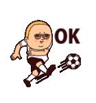 サッカーぷりてぃツイン(個別スタンプ:09)