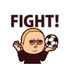 サッカーぷりてぃツイン(個別スタンプ:25)