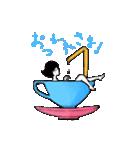 午前零時のうさぎちゃん(個別スタンプ:05)