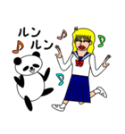 ナンシーとパンダ(日本語版)(個別スタンプ:28)
