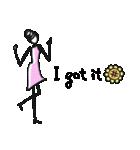 Woman Summer【英語】(個別スタンプ:04)