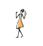 Woman Summer【英語】(個別スタンプ:18)