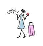 Woman Summer【英語】(個別スタンプ:25)