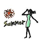 Woman Summer【英語】(個別スタンプ:29)