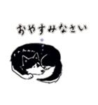 Every Day Dog 黒柴 日本語(個別スタンプ:31)
