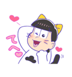 タマ&フレンズ × おそ松さん(個別スタンプ:16)