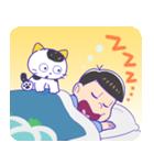 タマ&フレンズ × おそ松さん(個別スタンプ:18)