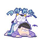タマ&フレンズ × おそ松さん(個別スタンプ:25)