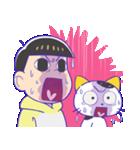 タマ&フレンズ × おそ松さん(個別スタンプ:29)