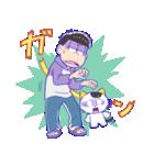 タマ&フレンズ × おそ松さん(個別スタンプ:34)