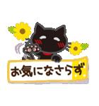 黒ねこ×夏の日常(個別スタンプ:34)