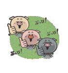 ぶひぶひぶひん(個別スタンプ:11)