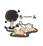 気軽にスタンプ コーギー 夏季編(個別スタンプ:19)