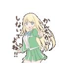 ツンデレっコ(金髪バージョン)(個別スタンプ:03)