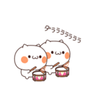 賑やかなネコ(個別スタンプ:09)
