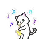 楽器演奏するネコ(個別スタンプ:03)