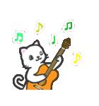 楽器演奏するネコ(個別スタンプ:07)