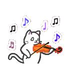 楽器演奏するネコ(個別スタンプ:13)