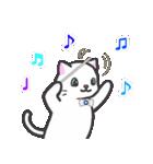 楽器演奏するネコ(個別スタンプ:15)