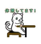 楽器演奏するネコ(個別スタンプ:21)