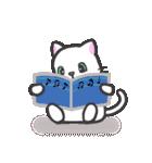 楽器演奏するネコ(個別スタンプ:22)