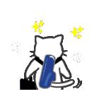 楽器演奏するネコ(個別スタンプ:35)