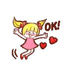 女の子のためのハッピースタンプ♡2(個別スタンプ:01)