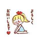 女の子のためのハッピースタンプ♡2(個別スタンプ:04)
