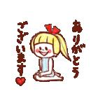 女の子のためのハッピースタンプ♡2(個別スタンプ:06)