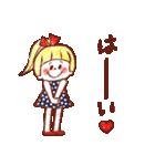 女の子のためのハッピースタンプ♡2(個別スタンプ:07)