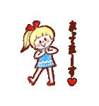 女の子のためのハッピースタンプ♡2(個別スタンプ:24)