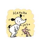 WanとBoo (友達編)(個別スタンプ:21)