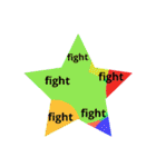 fightfightveryfight3star(個別スタンプ:37)