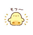 うごく!もふピヨ2(個別スタンプ:03)