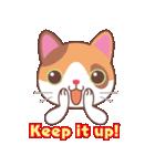 いろいろ猫の応援スタンプ(個別スタンプ:02)
