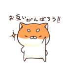 ぷちしば【応援】(個別スタンプ:07)